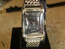SERVICED  1940`s BULOVA * HIS EXCELLENCY *MEN`S WATCH.......NEW CRYSTAL & STRAP