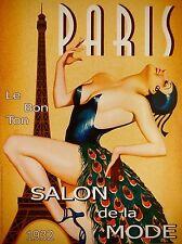 Art Deco Paris Night Club Pub. 3 Taille Affiche Imprimer.