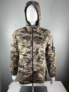 NWT $170 Under Armour UA Mens Barren Camo Brow Tine Jacket 1355316-999 M MEDIUM