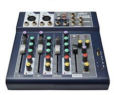 4 KANAL DJ PA MISCHER LIVEMISCHER PARTY  DISCO USB MP3