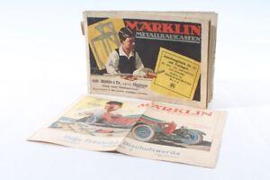 Alter Märklin Catalog Metal Construction Modular Tin Toy No 71 1-6