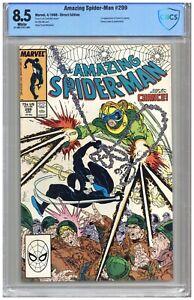 Amazing Spider-Man # 299  CBCS  8.5  VF+  White pgs 4/88  1st App. of Venom in c