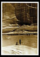 ⫸ 982 Postcard, 'Alone with the Past'  Navajo – Photo by Roland Reed 1913 – NEW