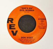 LISTEN MP3 SOUL Don West REV 1955 She's An Evil Woman and She's Mine