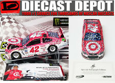 AUTOGRAPHED KYLE LARSON 2017 MICHIGAN 3RD CONSECUTIVE WIN TARGET RACED 1/24