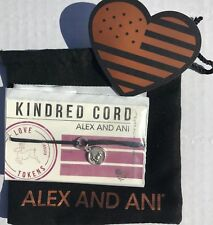 Alex and Ani Silver Reindeer Christmas Kindred Cord