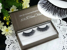 100% Mink Hair Cross Thick False eyelash Designed for women 3D fake eye lashes