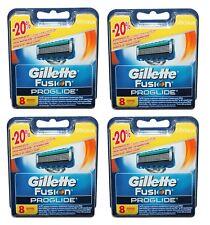 32 Gillette Fusion ProGlide Rasierklingen Klingen in OVP 4x 8er Set Pack