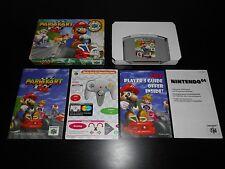 Mario Kart 64 Complete Nintendo 64 N64 Game CIB Luigi Yoshi