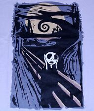 """Burton's Scream"" Jack Skellington Edvard Munch Mashup Medium Shirt Teevillain"