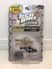 Rare Tech Deck BMX Dirt Finger Bike System Titanium U1 Frame Pack MATRIX SMITH