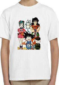 Bulma Goku Roshi Yamcha Puar And Oolong Kids Unisex Birthday Gift T-Shirt 139