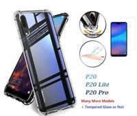 Shockproof 360° TPU Clear Case Cover For Huawei Mate 20 P30 Pro P20 Lite P Smart