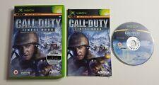 Call of Duty Finest Hour Original Xbox Spiel Cod Krieg Shooter Action Abenteuer