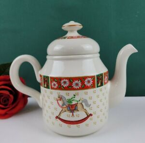 Charlton Hall by Kobe - Teapot With Lid -  DISCONTINUED PATTERN NWOB