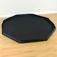 8 Sided Pet Play Pen Black Floor Mat Indoor/Outdoor Garden Run Dog/Puppy/Rabbit