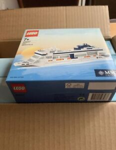 Lego 40227 X1 Msc Cruises Meraviglia Nave Barca Nuovo Sigillato Nisb Mint Misb