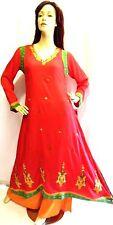 Shalwar kameez eid pakistani indian designer salwar sari abaya hijab suit uk 12