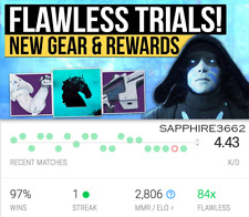 Destiny 2 Trials of the Nine GUARANTEED Flawless Carry/Recovery (XB1, PS4, PC)
