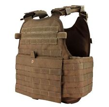CONDOR MOLLE Operator Plate Carrier Body Armor Vest  MOPC-498 COYOTE BROWN