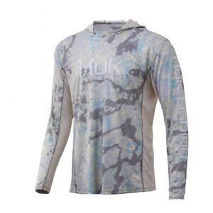 HUK Icon X Kryptek Camo Hoodie-Fishing Shirt--Pick Color/Size-Free Shipping