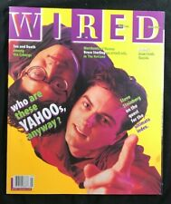 WIRED MAGAZINE - May 1996 - YAHOO / Jerry Yang & David Philo / BeBox / Cyborgs