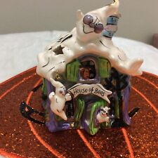 New listing Blue Sky Clayworks Halloween House of Boo's Excellent Pre-owned Condition