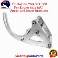 Low Mount RH Side Billet Aluminum Alternator Bracket Kit For Holden 253 304 308