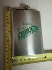 Dr. McGillicuddy's Mentholmint Schnapps Brand 8 oz. pocket / hip flask stainless