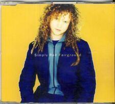 Simply Red-Fairground 4 TRK CD MAXI 1995 Live Tracks