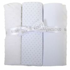 East Coast Cot Bed Bedding Bale (white) Fitted Flat Sheet Blanket