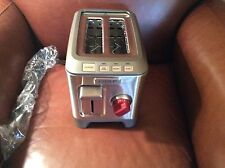 WOLF GOURMET 2 SLICE TOASTER - NEW NO BOX - RED KNOB - WGTR102S