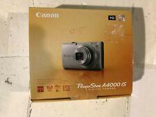 canon digital camera-blue-A4000IS-16.0MP-new open box