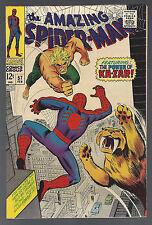 AMAZING SPIDER-MAN #57 Feb 1968 VF- KAZAR ZABU JOHN ROMITA Sr STAN LEE