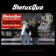 Status Quo : The Party Ain't Over Yet CD (2008)