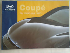 Hyundai Coupe brochure May 1998