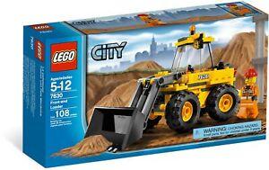 Lego City Front-End Loader 7630 (2009) Pre-Owned