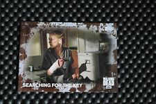 THE WALKING DEAD SEASON FIVE BASE SET TRADING CARDS MUD PARALLEL CARD #22 35/50