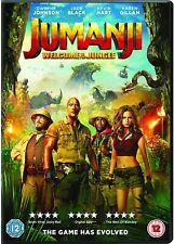 Jumanji: Welcome To The Jungle DVD BRAND NEW SEALED (A1)