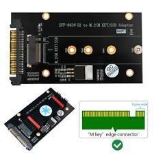M.2 Key M NVM-express SSD to SFF-8639 U.2 M.2Key M Adapter Converter w/Heat Sink