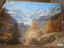 Vintage 3000 Piece Jigsaw Morteratsch Glacier Switzerland Puzzle HELSTAIR COMPLE