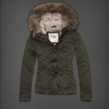 ❤️Abercrombie and Fitch by hollister Women's  Outerwear coat parka Large