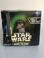 1998 Kenner Star Wars Action Collection WICKET THE EWOK  1/6 Scale Action Figure