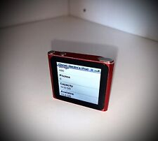 Apple iPod Nano 6th Generation 16 Gb Product Red