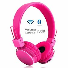 Termichy X2 Over The Ear Wireless Headphones - Pink