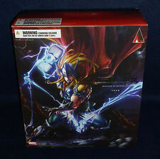 "Marvel Comics Variant THOR Play Arts Kai 10"" Action Figure Square Enix Avengers"