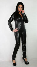 Faux Leather Sexy Fancy Dress Suits