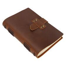 Натуральная кожа ручная работа журнал писать записная книжка, чистый дневник рисования альбом