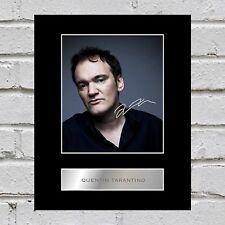 Quentin Tarantino Signed Mounted Photo Display #1