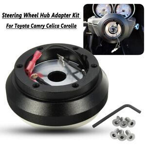 Aluminum Steering Wheel Hub Adapter Boss Kit for Toyota Camry Celica Coroll